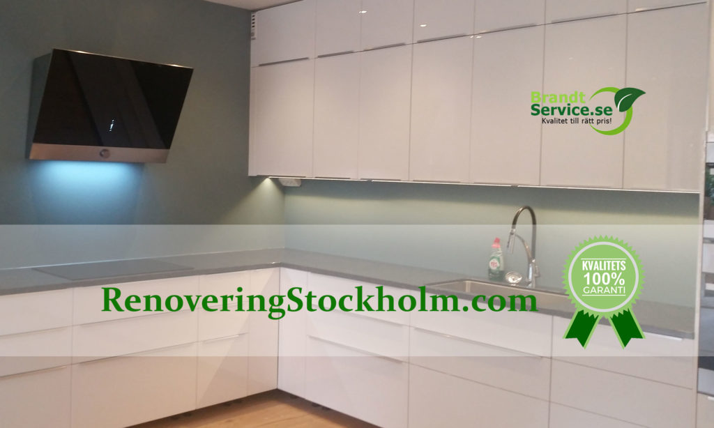 Renovering av kök i Stockholm